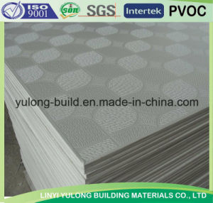 PVC Film Gypsum Ceiling Board pictures & photos