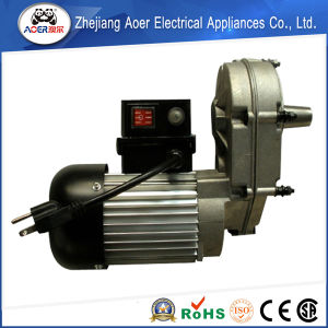 China ac single phase gear small electric motor low rpm for Low rpm electric motor for rotisserie