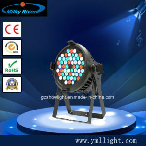China High Quality 54*3W Outdoor LED PAR54 RGBW DMX Stage Lighting pictures & photos