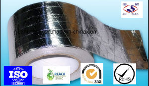 Silver Synthetic Rubber Adhesive Refrigerator Aluminium Foil Tape pictures & photos