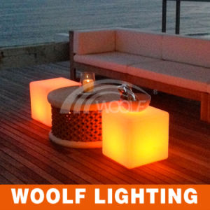 Colorful LED Chairs/LED Cube Furniture/Bar Chair Sale pictures & photos