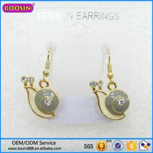 Guangzhou Boosin Zinc Alloy Jewelry, Cross Rhinestone Enaeml Earring# 21552 pictures & photos