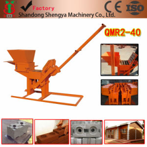 Manual Brick Machine No Need Electricity (QMR2-40) pictures & photos