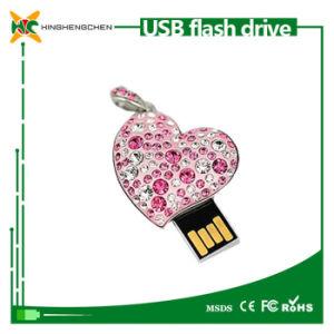 Heart Shape USB 2.0 Memory Stick Flash Pendrive Wholesale pictures & photos