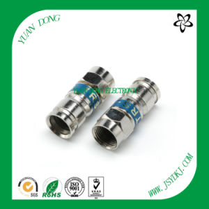 RG6 Cable Compression Type F Male Crimp Connector CATV Connector pictures & photos