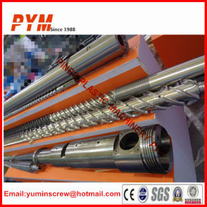 Plastic Extruder Screw and Barrel Screw Barrel for Recycling Film pictures & photos