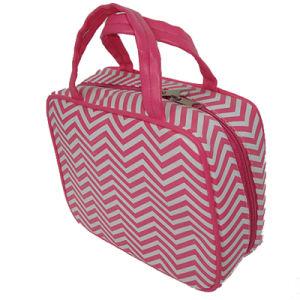 Waved Pattern PU Fashion Handbag
