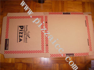 Locking Corners Pizza Box for Stability and Durability (CCB053) pictures & photos