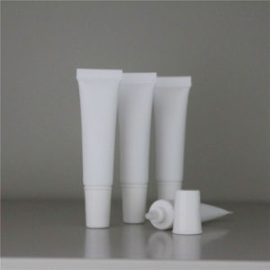 10ml Cosmetic Ivory Colour Soft Plastic Squeeze Tube for Face or Hand Cream Packing pictures & photos
