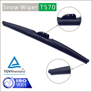 Snow Wiper Blade Windscreen Cleaning Snow in Winter pictures & photos