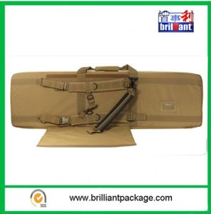 "600d Durable Khaki Polyester 42"" Shock Rifle Case Gun Bag pictures & photos"