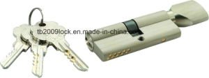 High Security Double Pins Groove Key Cylinder (C3370-161SN-231SN) pictures & photos