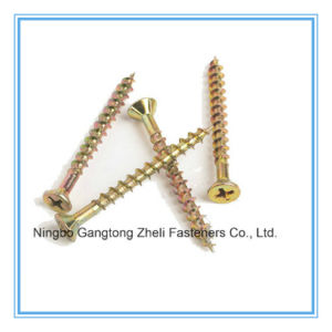 Csk Head Chipboard Screw (DIN7505) pictures & photos