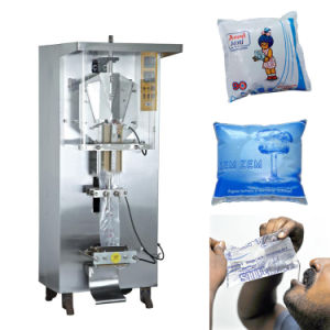 Sachet Water Filling Machine Milk Pouch Packing and Sealing Machine Sxs-500zf pictures & photos