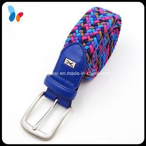 Fashion Casusal Mix Color Elastic Webbing Belt for Men pictures & photos