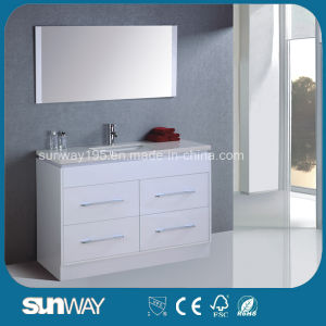 Classic Australia Style Bathroom Vanity with Mirror (SW-MF1208) pictures & photos