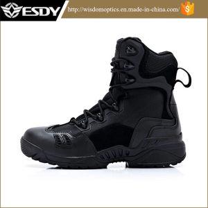 Esdy Black Color High Commando Ranger Tactical Boots pictures & photos