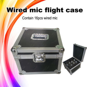 Wire Microphone Portable Flight Case pictures & photos