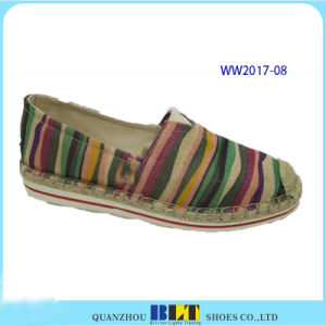 Cute Brand Canvas Casual Shoes with Cute Patten pictures & photos