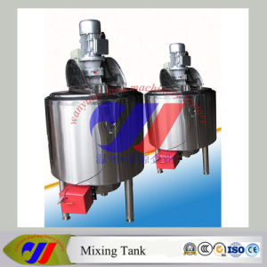 Stainless Steel Gas Heating Mixing Tank pictures & photos