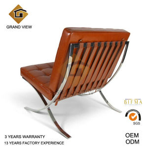 Designer Artificial Leather Furniture Office Barcelona Chair (GV-BC01) pictures & photos