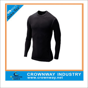 Cheap Long Sleeve Compression Gym Shirt for Men pictures & photos