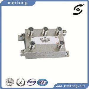4 Way Indoor Surgen Splitter 5-1000MHz Standard Case 6kv pictures & photos