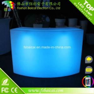 LED Straight Bar Counter, LED Pub Bar Furniture, LED Bar Table pictures & photos