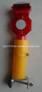 High Efficiency Road Cone Light with PV Panel pictures & photos