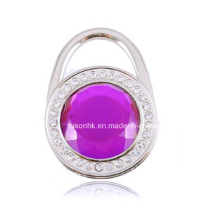 Colorfull Diamond Purse Hook for Stylish Gitfs Promotion Gifts pictures & photos