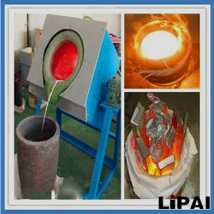 Energy Saving Small Auto-Pouring Crucibles Copper Melting pictures & photos