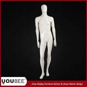 Attractive Abstract Male Fiberglass Manikin in Color Cream pictures & photos