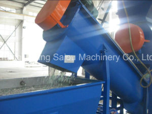 Ce Hot Washing Pet Plastic Recycling Line pictures & photos