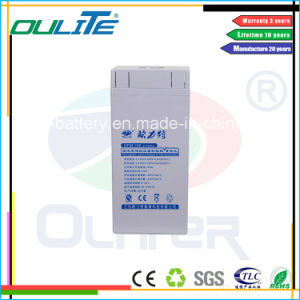 Long Lifespan AGM Battery 2V300ah for Solar Power System pictures & photos