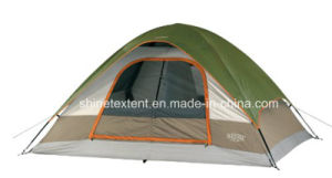 6 Person Single Layer One Door Camping Tent pictures & photos