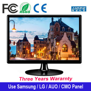 18.5 Inchs Computer Series Widescreen LED Backlight LED Monitors 16: 9 Display DVI/VGA Interface pictures & photos
