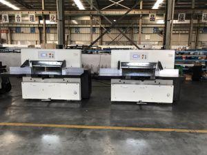Hydraulic Paper Cutting Machine (QZYX92C) pictures & photos
