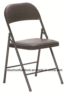 Steel Frame Folding Chair with PU Leather pictures & photos