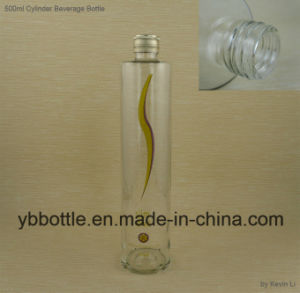 500ml Tall Glass Beverage Bottle