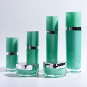 Triangular Shape Acrylic Lotion Bottles and Jars (EF-C10) pictures & photos
