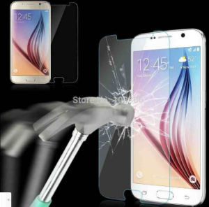 Full Cover S6 Tempered Glass Film Protector pictures & photos