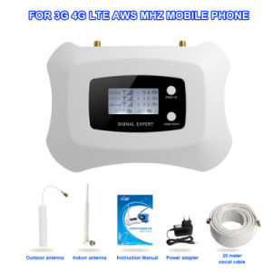 Smart 1700MHz Mobile Signal Repeater 3G 4G Cell Phone Signal Booster pictures & photos
