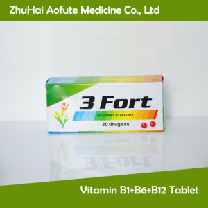 Vitamin B1+B6+B12 Tablet pictures & photos