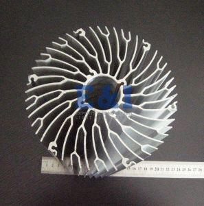 High-Power Sunflower Forging Heat Sink by Aluminum