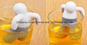 Mr. Tea Infuser Silicone Tea Filter with FDA Approved St02 pictures & photos