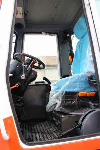 2 Ton Case Compact Small Loader with Snow Blade pictures & photos