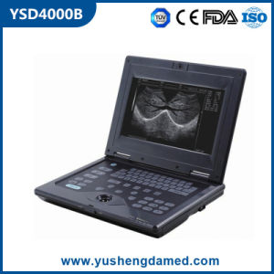 Ysd4000b Ce Approved Veterinary Digital Portable Ultrasound Machine pictures & photos