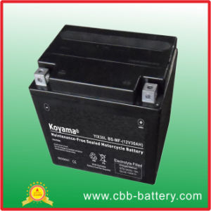 12V30ah Sealed Factory Maintenance Free Lead Acid Motorcycle Battery--Yix30L pictures & photos