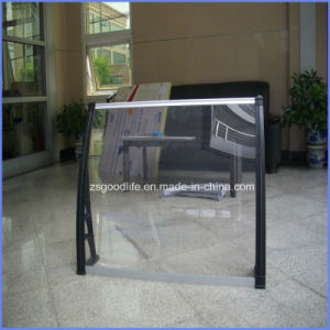 DIY Clear Polycarbonate Patio Door Awnings with Middle Fixing pictures & photos