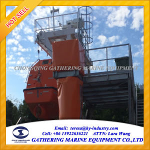 55 Persons Totally Enclosed Lifeboat with Offshore Platform Davit pictures & photos
